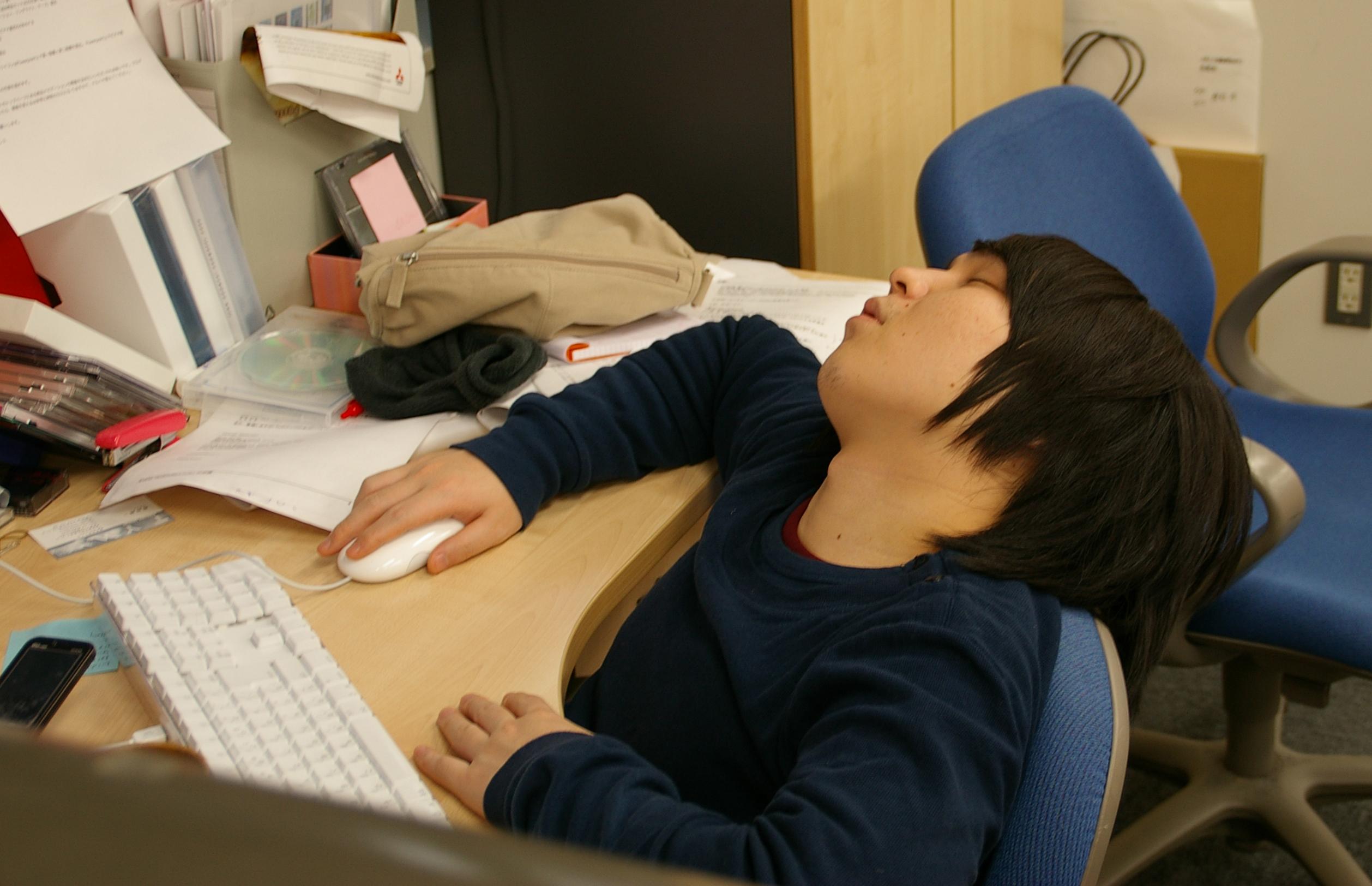 Смешные картинки про сонного человека